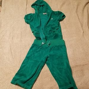 Girls size 10 Juicy Couture outfit